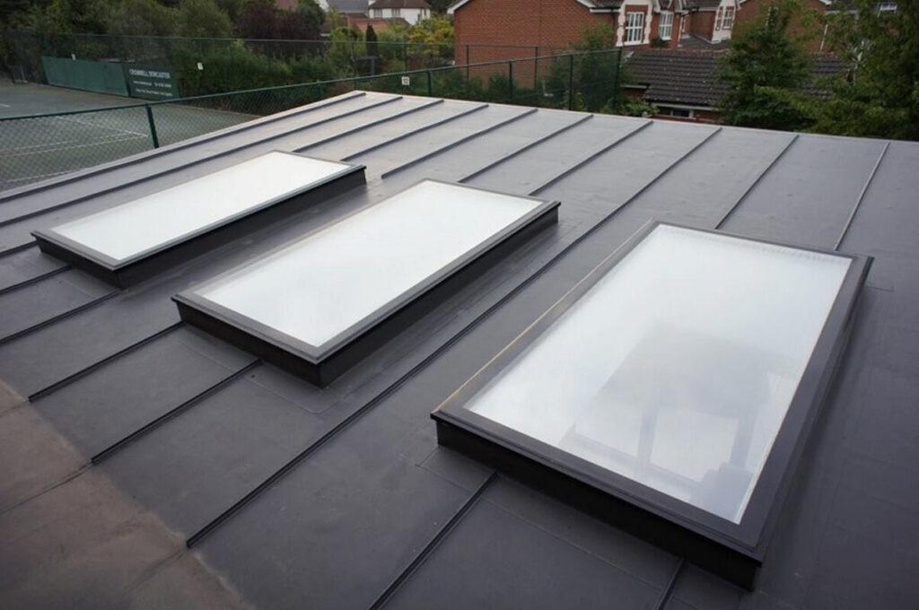 PVC در سقف ساختمان های صنعتی