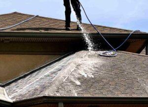 شست و شوی سقف خانه