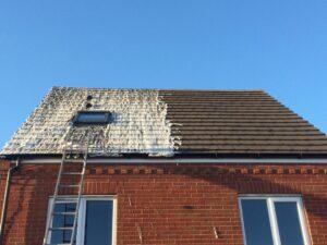 تمیز کاری سقف